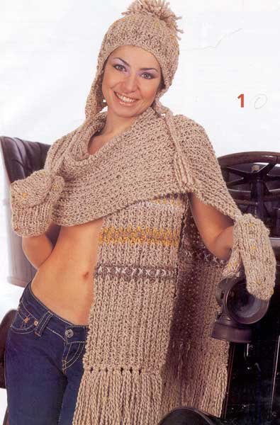 ручное вязание,